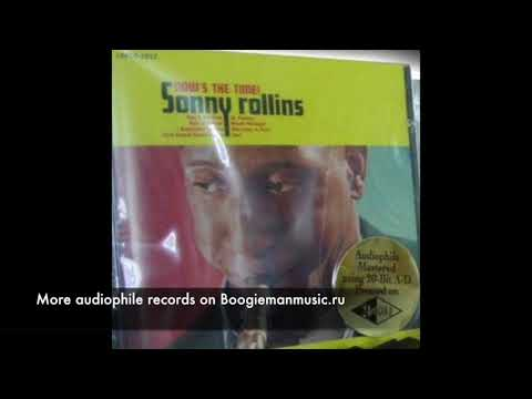 Sonny Rollins – Now's The Time! - Classic Compact Discs – LSPCD-2927 - 24k GOLD