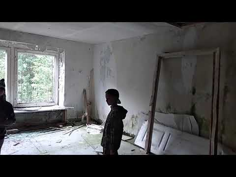 Заброшенная база отдыха в Рыбинске