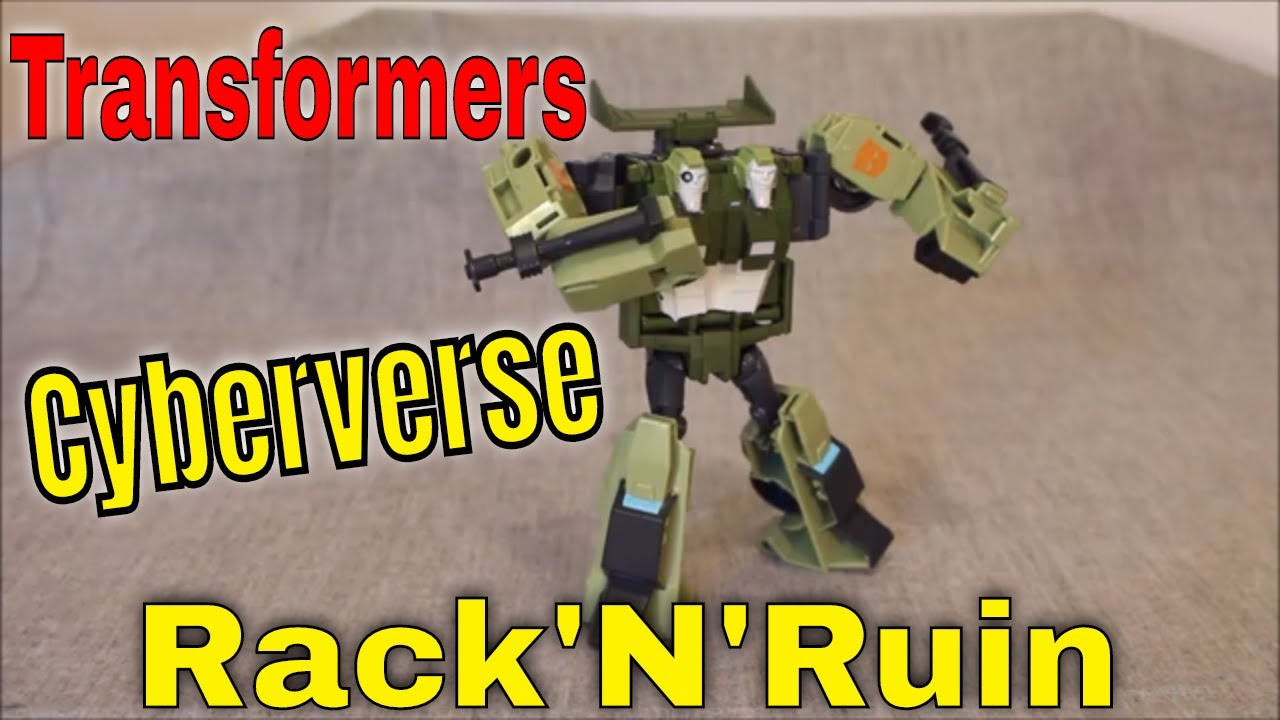 Is 2 REALLY Better Than 1? Transformers Cyberverse Rack N Ruin by GotBot