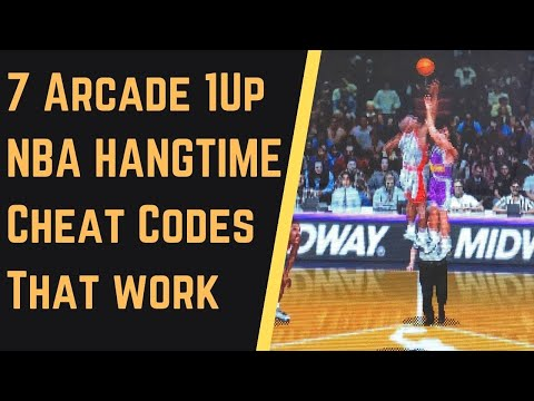 How to Cheat at NBA Hangtime Arcade 1Up - 7 Cheat Codes Verified from Rob Young