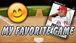 MY FAVORITE BASEBALL GAME! MVP Baseball 2004