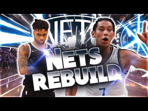 DE'ANGELO RUSSEL's A BEAST! NBA 2k18 Brooklyn Nets Rebuild #8