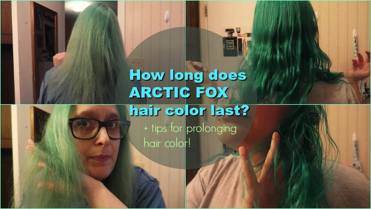How Long Does Arctic Fox Hair Color Last Prolonging Hair Color Tips