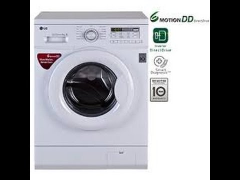 Lg 6 Kg Fully Automatic Front Load Washing Machine Demo Youtube