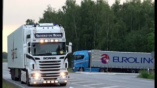 Travemünde Skandinavienkai Truck Spotting with V8 sound and New Generation Scania 2.0