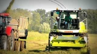 Traktory a Kombajny Sezona 2013 3x Żniwa Claas Lexion (Oragro) /HD/