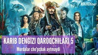 kARIB DENGIZI QAROQCHILARI 5 UZBEK TILIDA HD 720