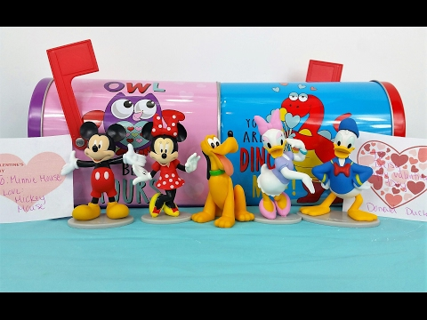 Valentine's Day Surprise Mickey Mouse & Donald Duck Send Minnie Mouse & Daisy Something Special