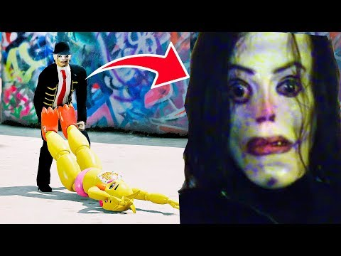 ANIMATRONICS AYUWOKI CAPTUROU TOY CHICA?   GTA V Five Nights at Freddy's thumbnail