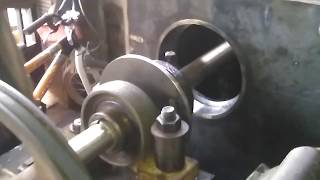 Simple manual boring hole spindle bearing on my homemade headstok lathe part 2