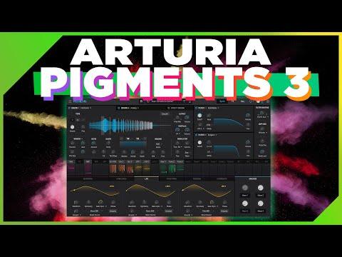 Arturia PIGMENTS 3 - Les Nouveautés