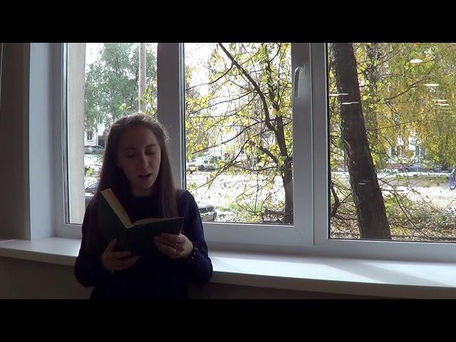 Изображение предпросмотра прочтения – АнастасияГлазкова читает произведение «Черёмуха» С.А.Есенина