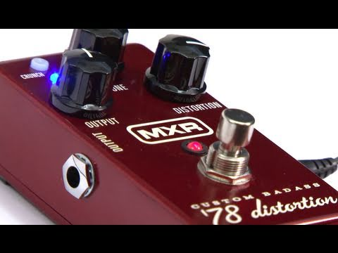 ZZ Top-style Soulful Riff sponosored by the MXR Custom Badass '78