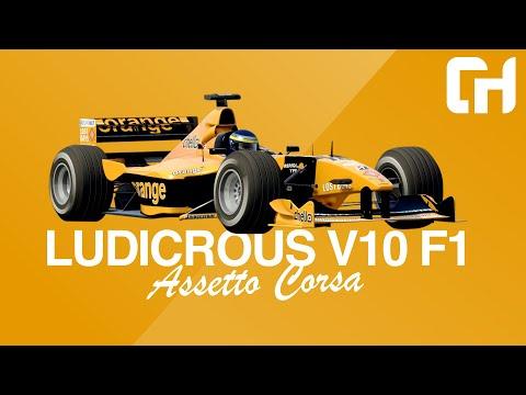 Formula RSS 2000 V10 Assetto Corsa Mod [Race Sim Studio] F1