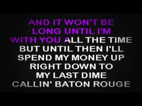 SC2109 02   Brooks, Garth   Callin' Baton Rouge [karaoke]