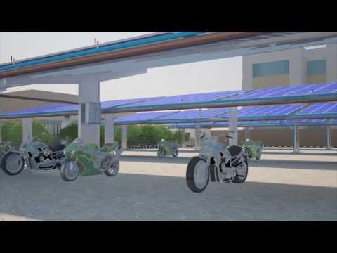 Bosch 3D solar panel installation walkthrough BAIL
