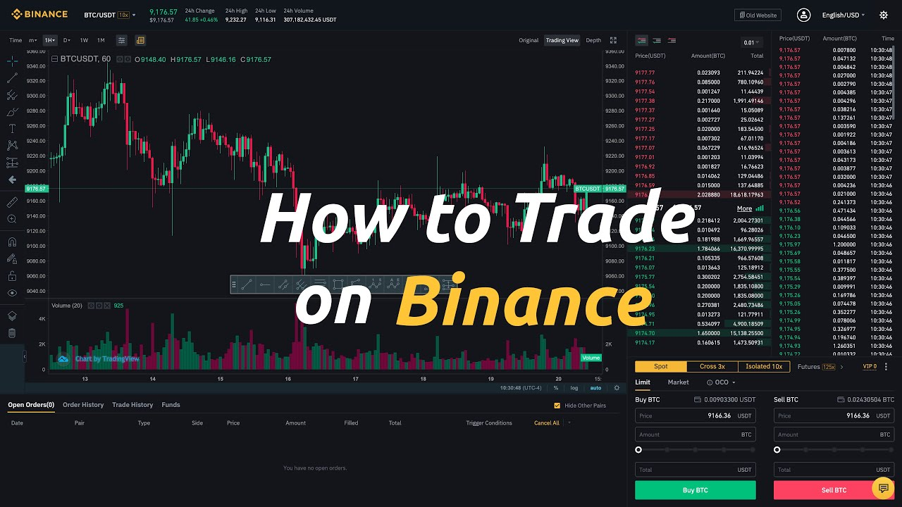 How to trade crypto (on Binance)