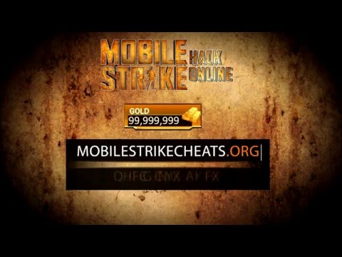 Mobile Strike Cheats Unlimited Gold - iOS/Android 2017