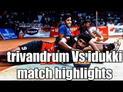 Kerala state senior volleyball championship. idukki vs Trivandrum 1st set