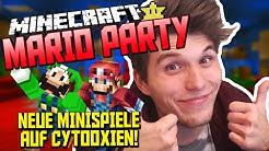 Minecraft Mario Party ist ZURÜCK! ✪ Neue Minispiele auf Cytooxien mit Sturmwaffel