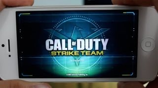 AppQuest - Call of Duty: Strike Team App Review & Gameplay ( iPhone, iPod Touch, iPad )