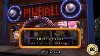 Pinball Hall of Fame: The Williams Collection PSP Gameplay
