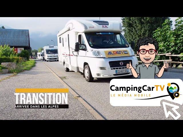 JT en camping-car N°142 - Col de la Loze à Méribel