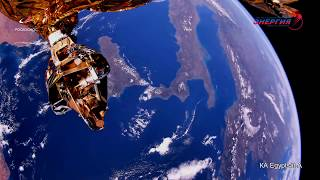 Views Of Earth From Space - Video From Onboard Cameras Egyptsat-a