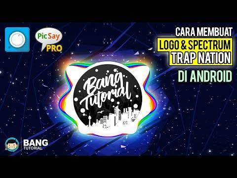 Cara Membuat Logo &  Spectrum Effect seperti Trap Nation di Android  Avee Player Tutorial 1