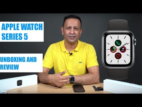 Apple Watch Series 5 Unboxing And Products Preview In Nepali   Lokesh Oli