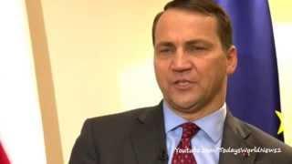 Polish FM Radek Sikorski on Ukraine crisis