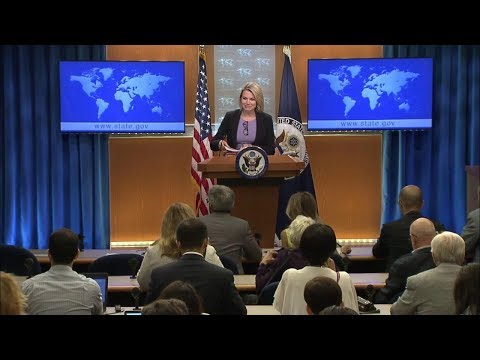 Department Press Briefing - July 24, 2018