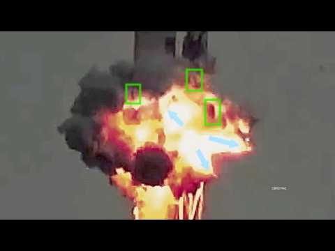 Spacex Exploding Strongback Shrapnel, and it's Destruction of the Falcon 9 Rocket