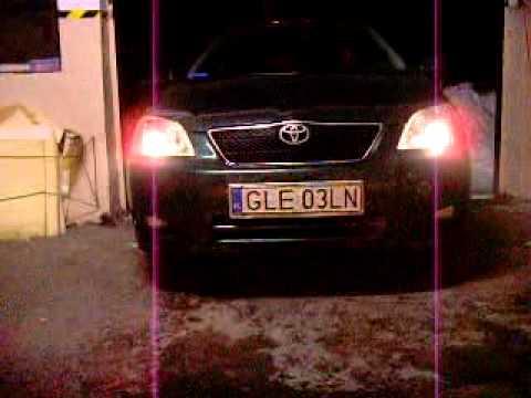 Toyota Corolla Przerobienie Reflektorów