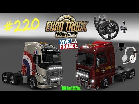 Euro Truck Simulator 2 #220 Francia ad obiettivi - Puntata speciale w/NYKK3