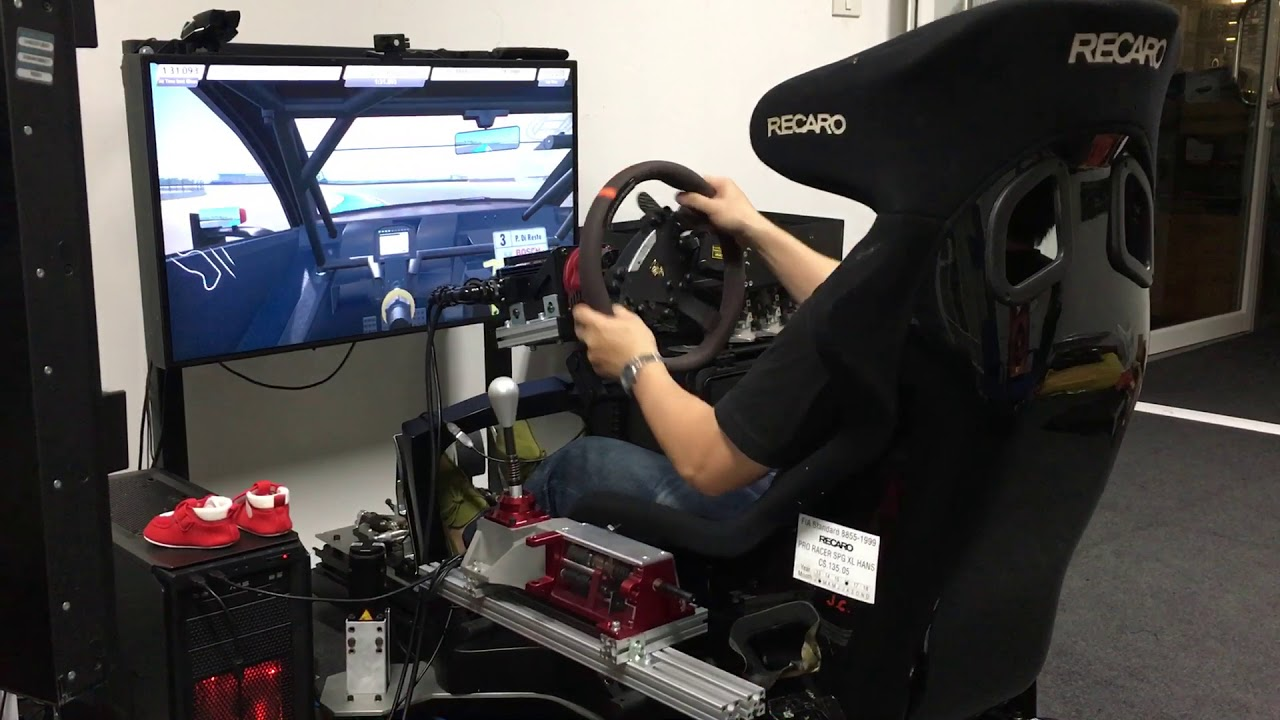 Testing the Pro-sim H shifter