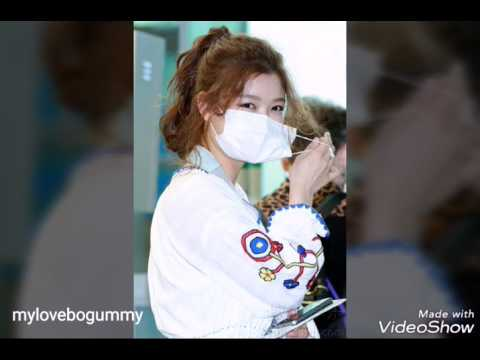 Kim Yoo Jung departure for her fanmeeting in singapore MAY 20,2017