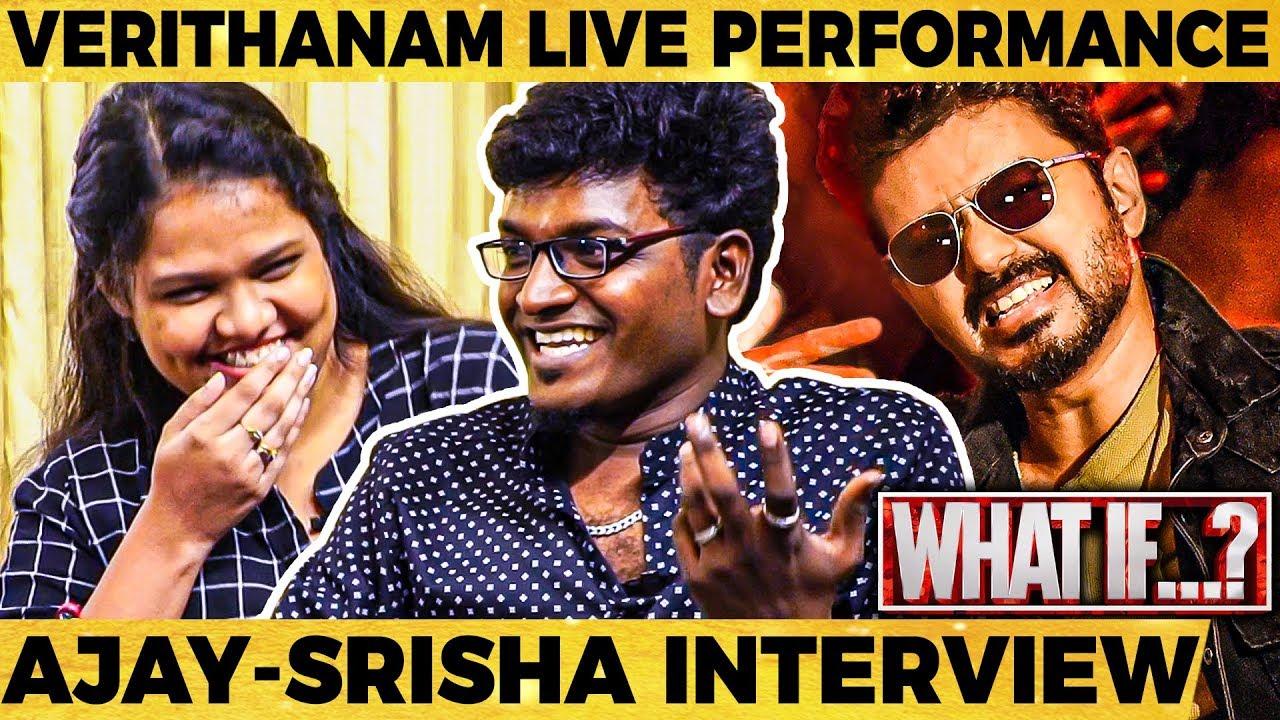 What If Udit Narayan Sings Verithanam Song - Live Singing By Ajay Krishnaa | Srisha | Super Singer