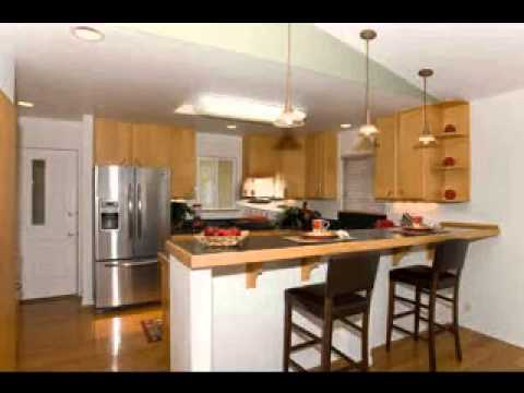 kitchen counter bar bench table design breakfast youtube