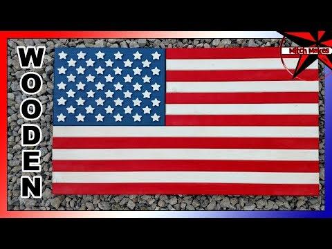 Wooden USA Flag DIY