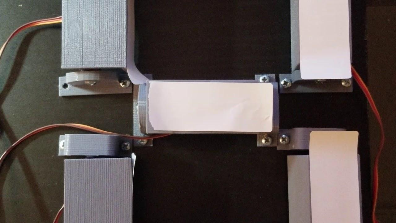 Arduino servo clock