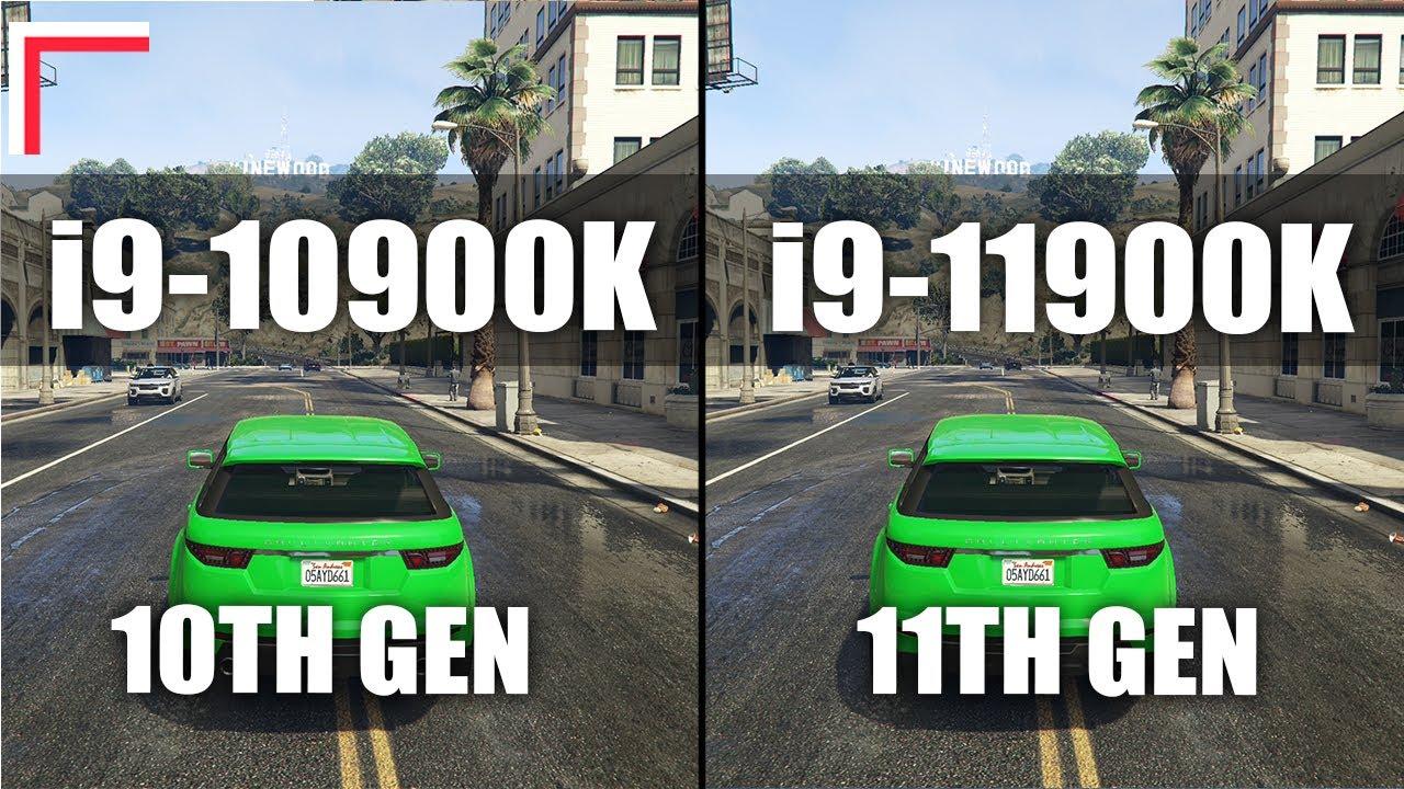Intel Core i9-10900K vs Intel Core i9-11900K — Test in 10 Games! [1080p, 1440p]