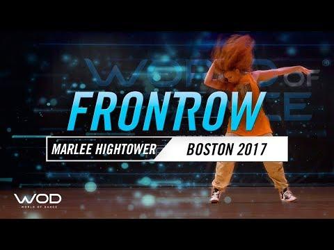 Marlee Hightower | FrontRow | World of Dance Boston 2017 | #WODBOS17