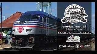 Matt's playtime.  Manassas Virginia railway festival