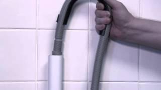 Installatie van een vrijstaande vaatwasser of wasmachine