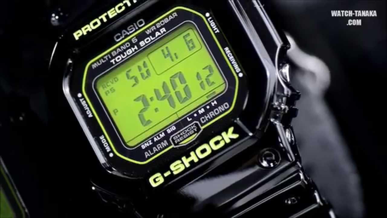 3218942508 CASIO G-SHOCK MULTIBAND6 GW-M5610B-1JF タフソーラー電波モデル - YouTube