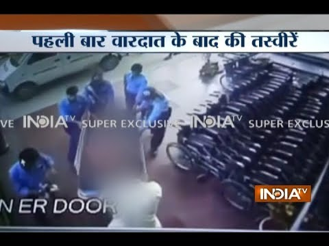 IndiaTV Exclusive: CCTV footage of Pradyuman being taken to hospital after his murder recovered