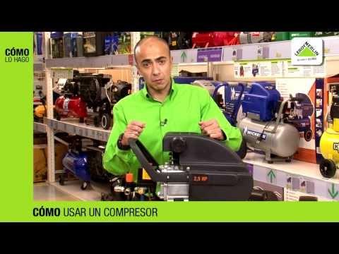Compresor de aire euro 225 25l bauker sku 132547 7 doovi for Compresor aire leroy merlin