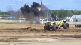 xdp diesel monster truck does backflip