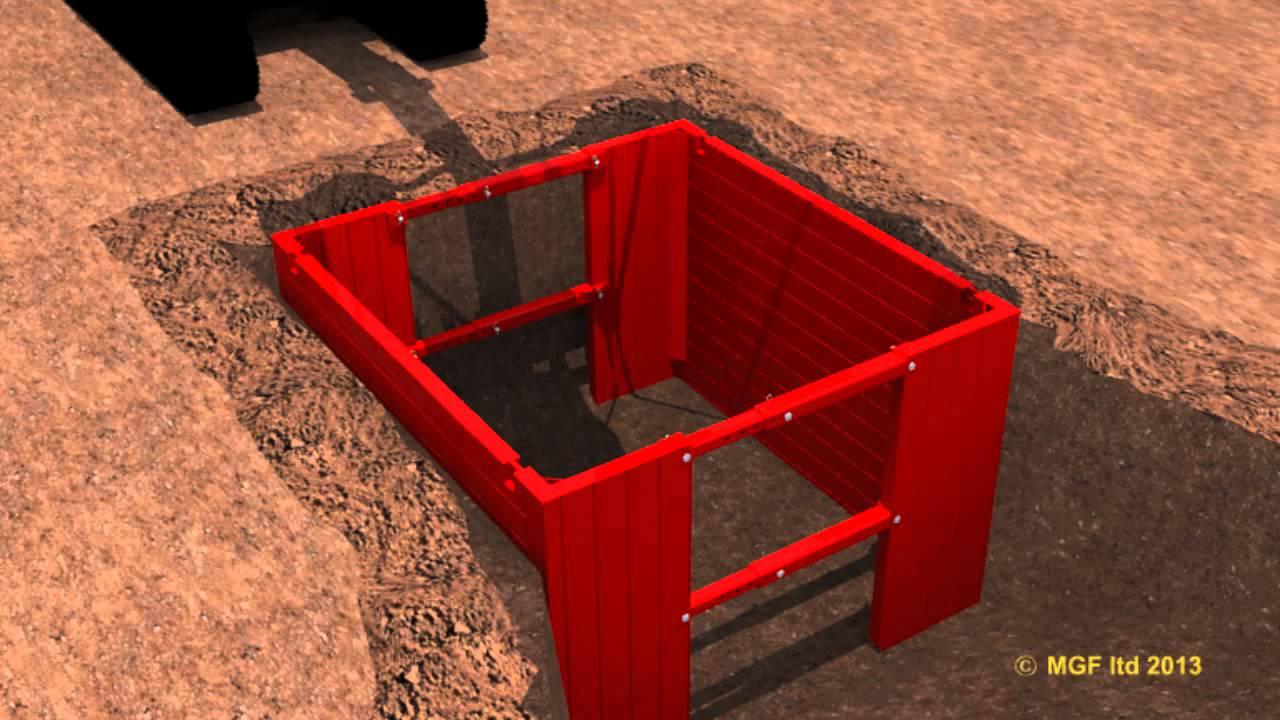 Manhole Box Safe System Of Work Mgf Youtube